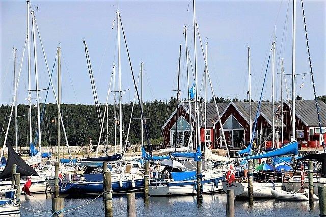 Glyngöre Hafen