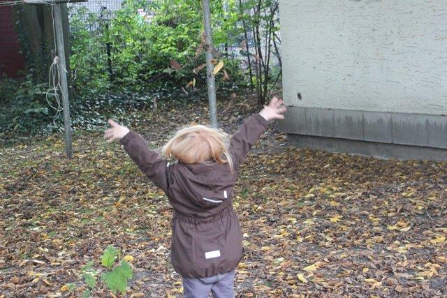 """Juhu, Mama...so viele Blätter"""
