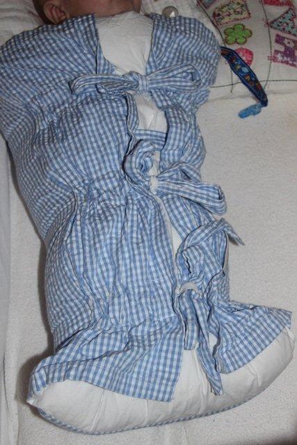 Ein Wunder-Schlafsack...