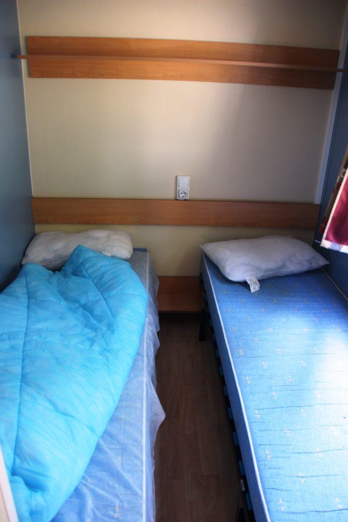 Hier sollte die Motte schlafen...