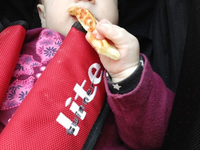 Warum Brei essen wenn man auch Pizza haben kann...