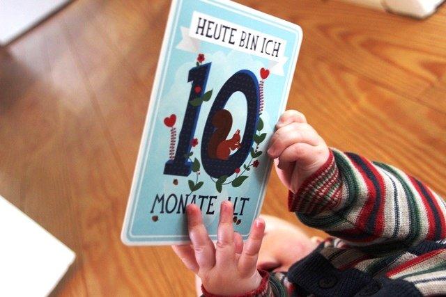 10 monate zusammen text