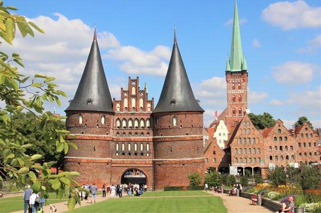 Lübeck mit Kindern Holstentor