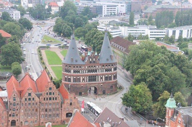 Lübeck Aussichtsplattform St. Petri