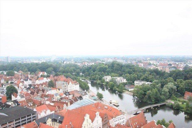 Lübeck Panorama St. Petri-Kirche