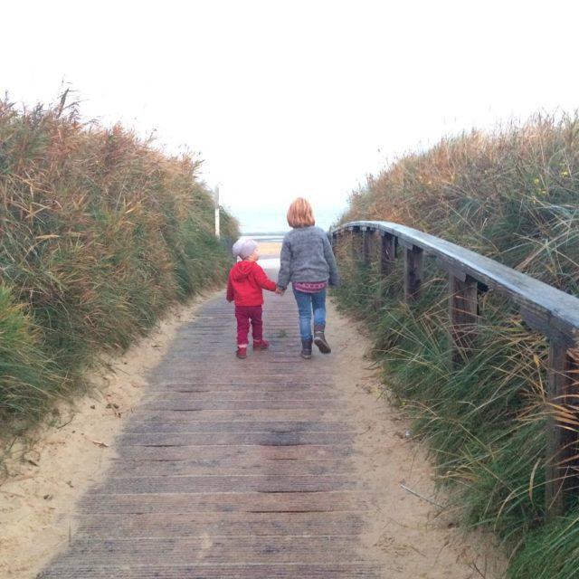 Heute morgen noch vor dem Frhstck am Strand von cuxhavenhellip