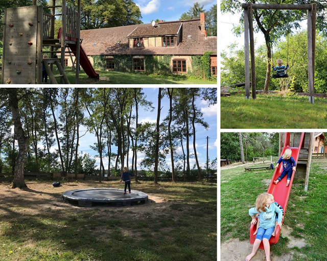 Biber Ferienhof Mecklenburgische Seenplatte mit Kindern