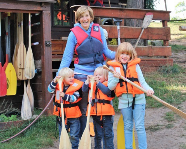 Biber Ferienhof - Mecklenburgische Seenplatte mit Kindern
