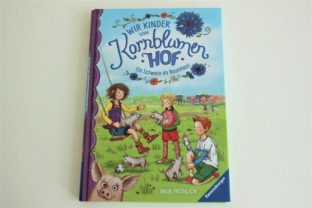 Kinderbücher für die Sommerferien Wir Kinder vom Kornblumenhof