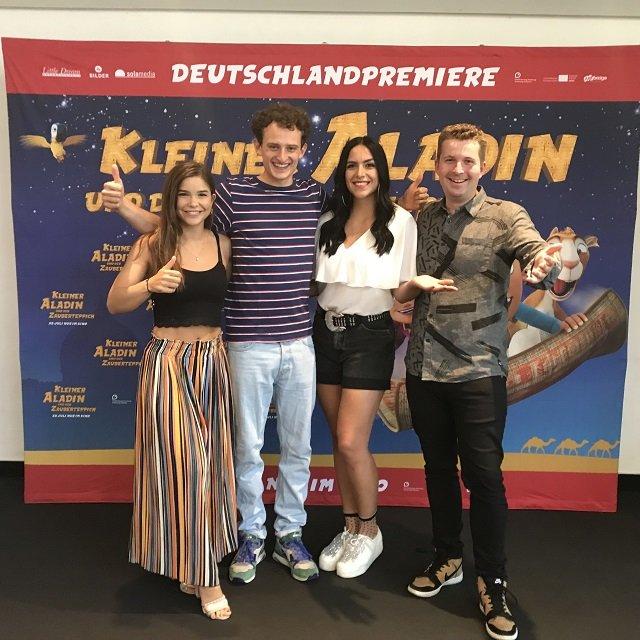 Kleiner Aladin Premiere mit Checker Julian und KIKA Stars