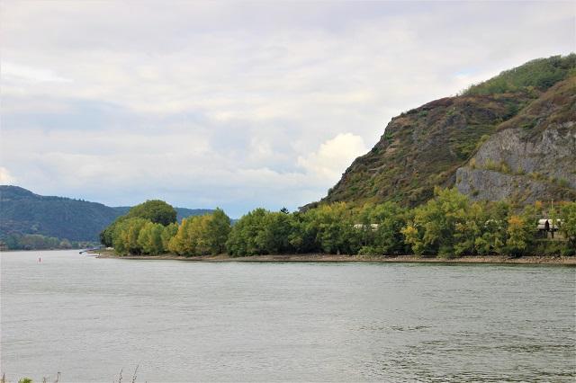 Romantischer Rhein mit Kindern
