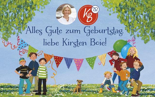 Geburtstag von Kirsten Boie