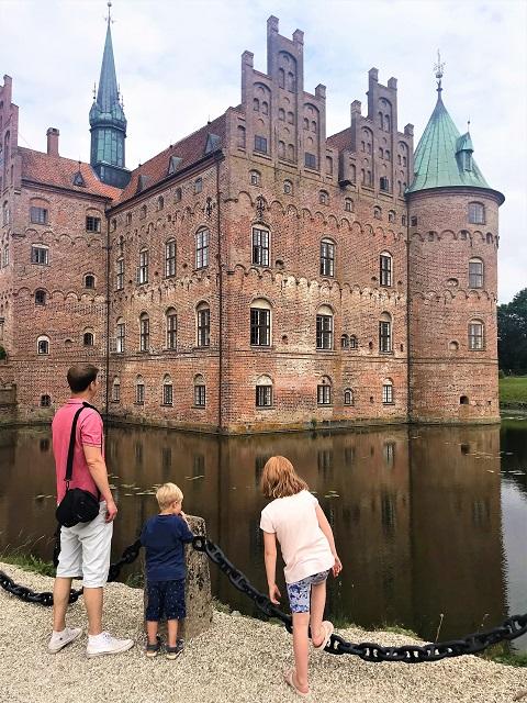 Insel Fünen Schloss Egeskov