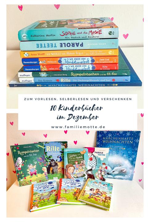 Kinderbücher im Dezember