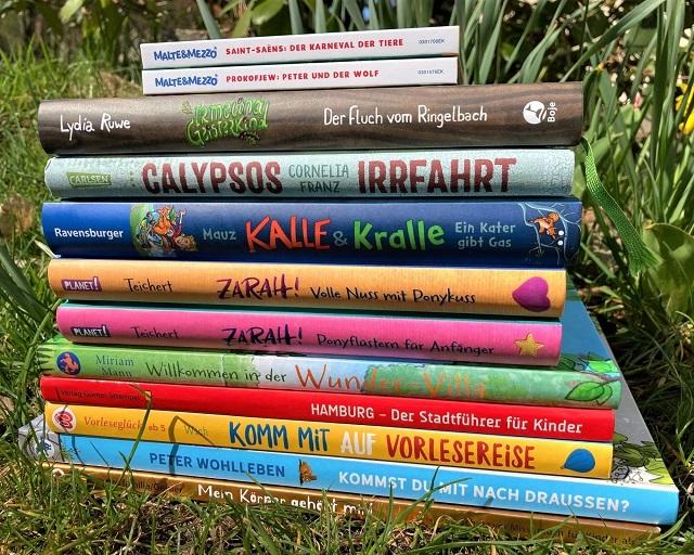Kinderbücher im April