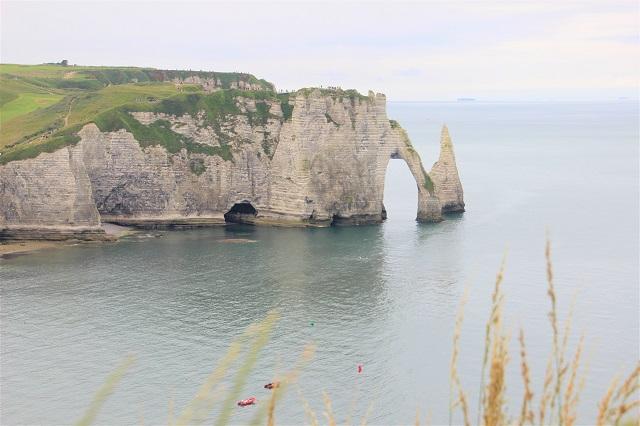 Normandie mit Kindern - Étretat