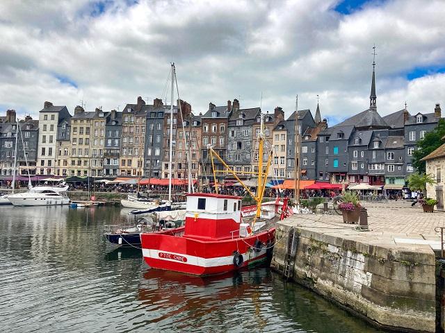 Normandie mit Kindern - Honfleur