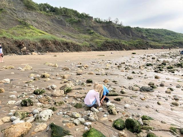 Normandie mit Kindern - Villers-sur-Mer